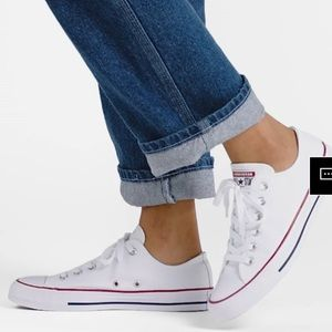Optical White•Converse•Chuck's All Star Low Tops,7